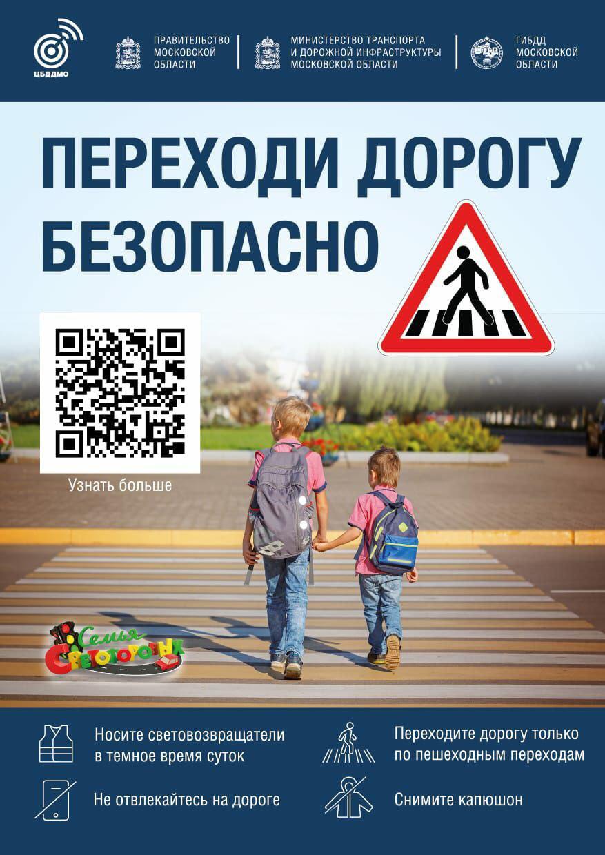 Переходи дорогу безопасно